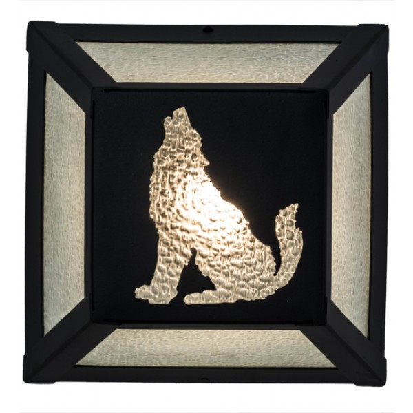 162704 Wolf Northwoods Wall Sconce