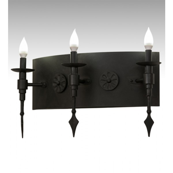 "171909 Warwick Gothic 24"" Wall Sconce"