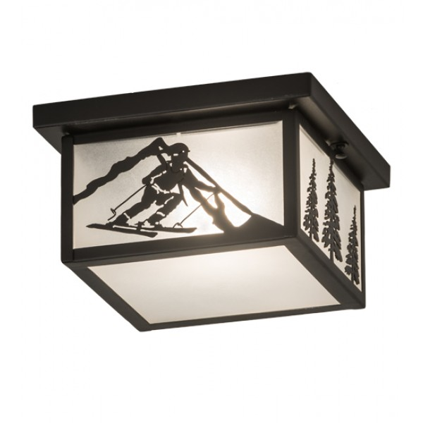 15419 Skier Flushmount Ceiling Light Meyda Lighting