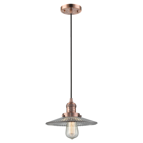 201C Halophane Pendant Innovations