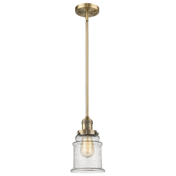 201S Canton Stem Pendant Innovations Lighting