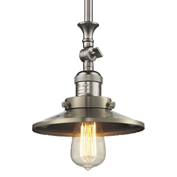 Railroad Stem Pendant Innovations Lighting