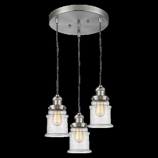 211/3 Canton 3 Light Pendant Innovations Lighting