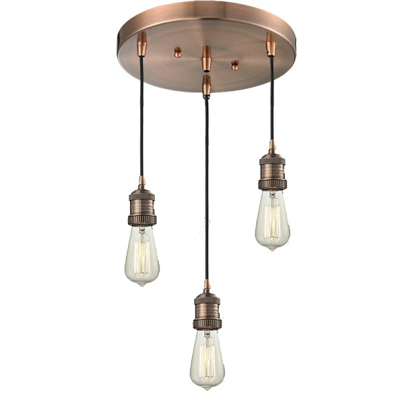 211NH/3 Bare 3 Bulb Ceiling Mount Innovation