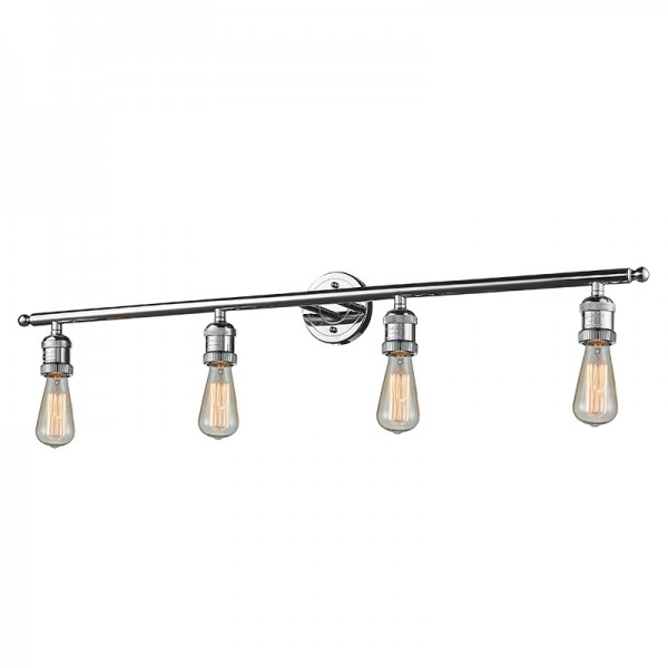 215 Bare Bulb 4 Light Wall Sconce Innovations