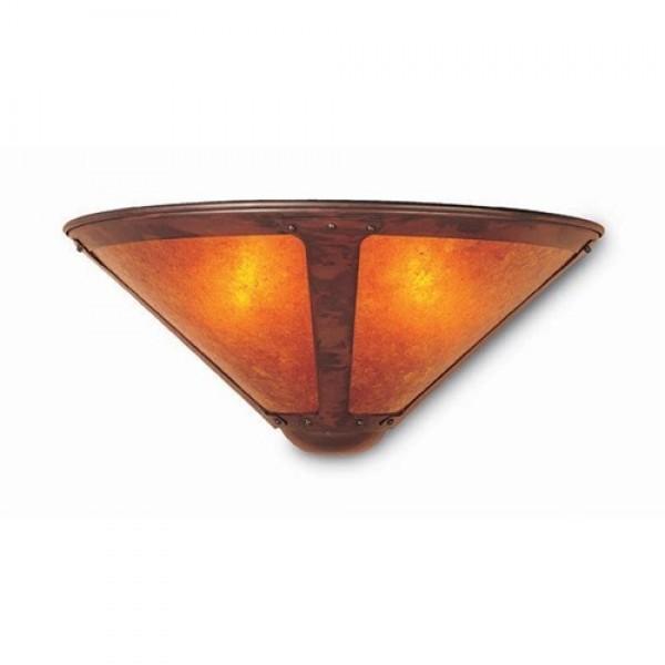 "121 Wall Sconce 14"" Mica Lamp Company"