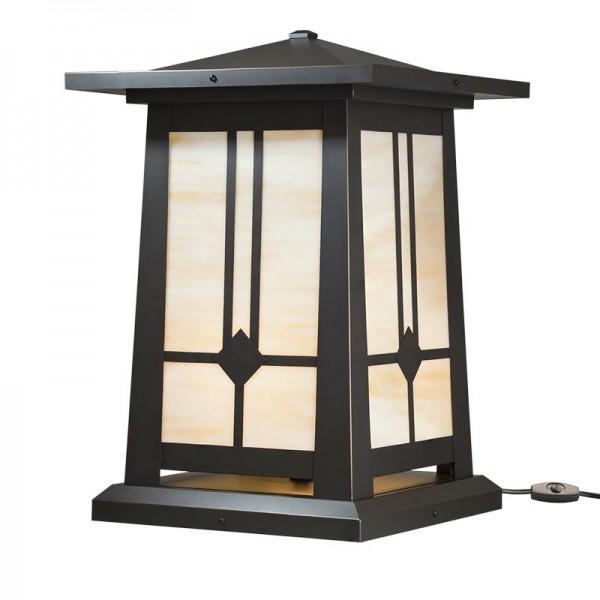 Waverly Craftsman Pedestal Table Lamps