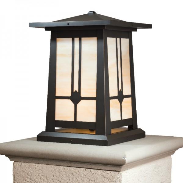 Waverley Craftsman Column Mount Lighting