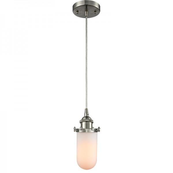 516-1P-232 Industrial Glass Light Kingsbury Pendant
