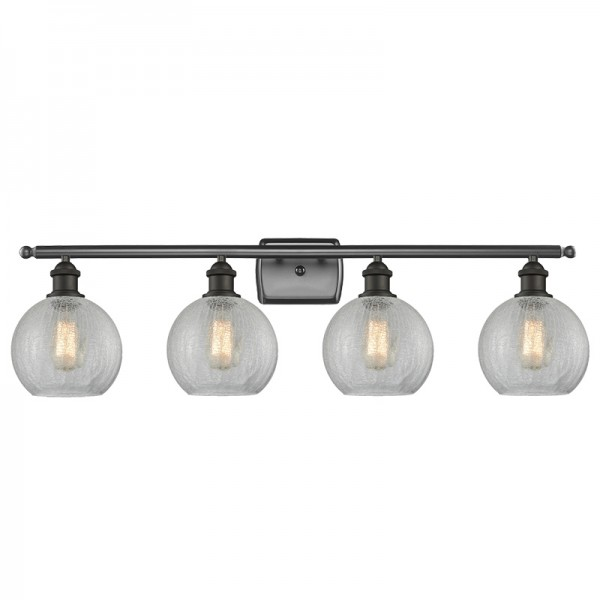 516-4W Athens Glass 4 Light Sconce