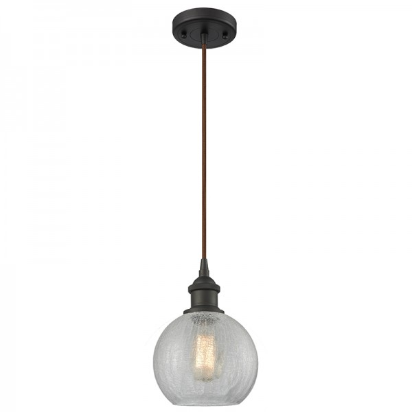 516-1P Glass Light Athens Pendant Innovations