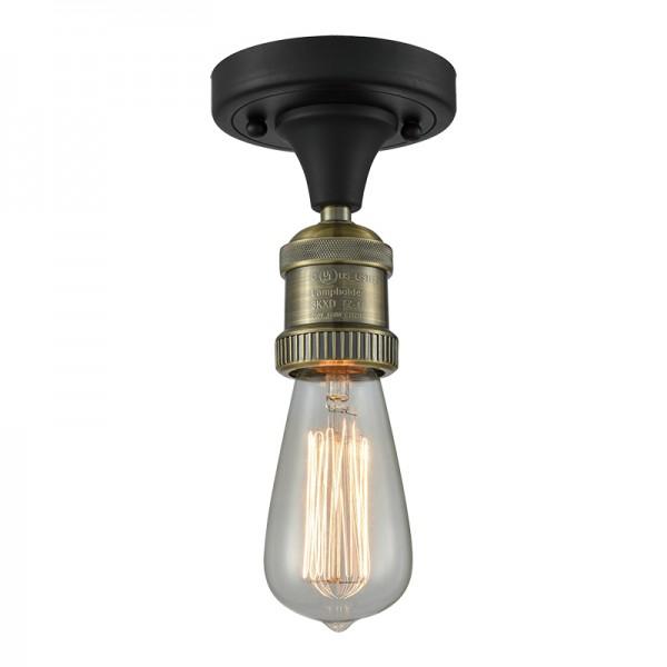 517 Bare Bulb Semi-Flush Ceiling Mount Innovations Lighting