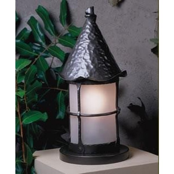 LF301 Cottage Column Mount Lanterns Mica Lamps
