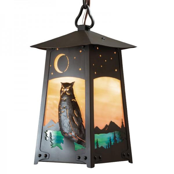 603 - Owl Baldwin Chain Pendant
