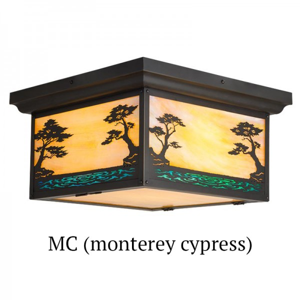 635 - Monterey Cypress Drop Ceiling