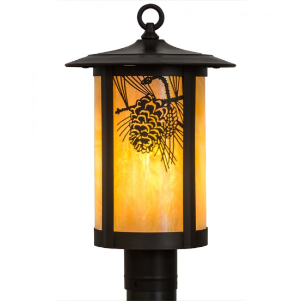 Fulton Post Mount Lights Meyda Lighting