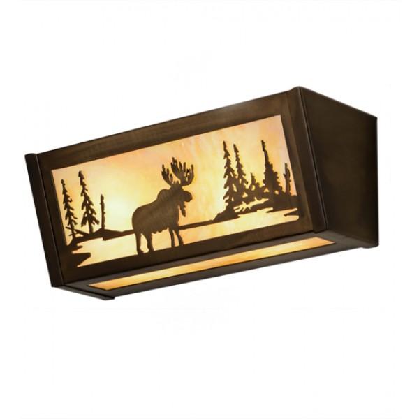 """98902 16""""W Moose at Lake"""