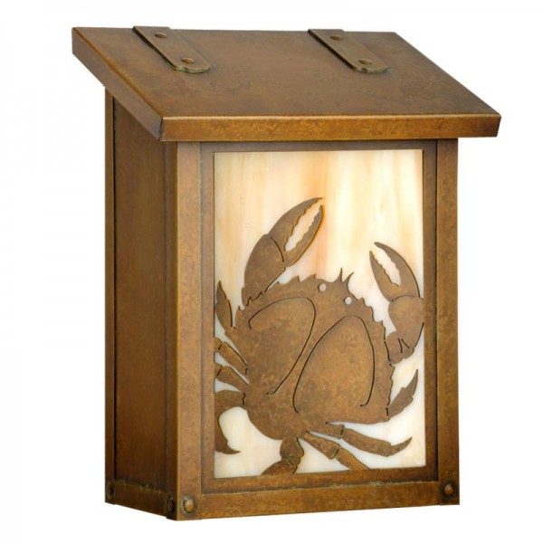 Crab Vertical Wall Mount Mailbox