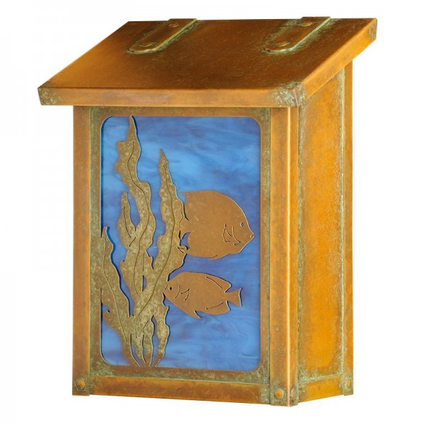 AF-1711 Fish Mailbox