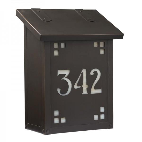 AF-21-HN Pasadena House Number Vertical Mailbox