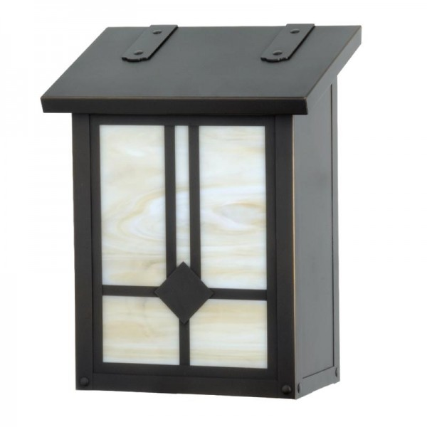 Mission Style Raymond Vertical Wall Mount Mailbox