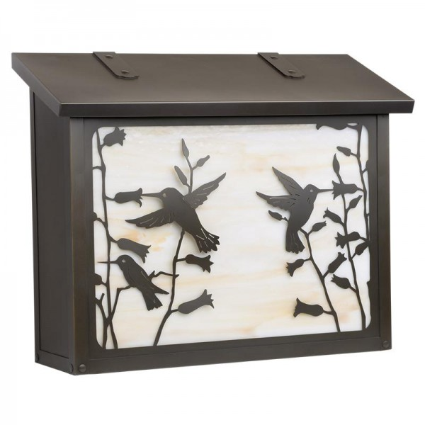 Hummingbird Large Vertical Mailbox