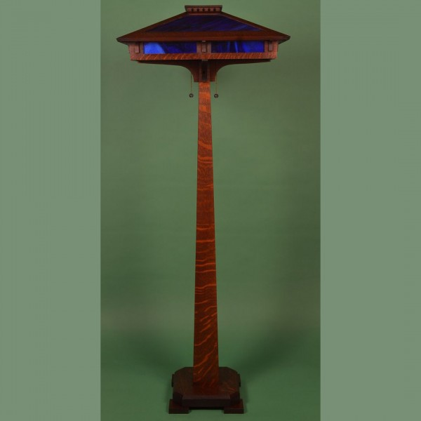 Bungalow Craftsman Reading Floor Lamp