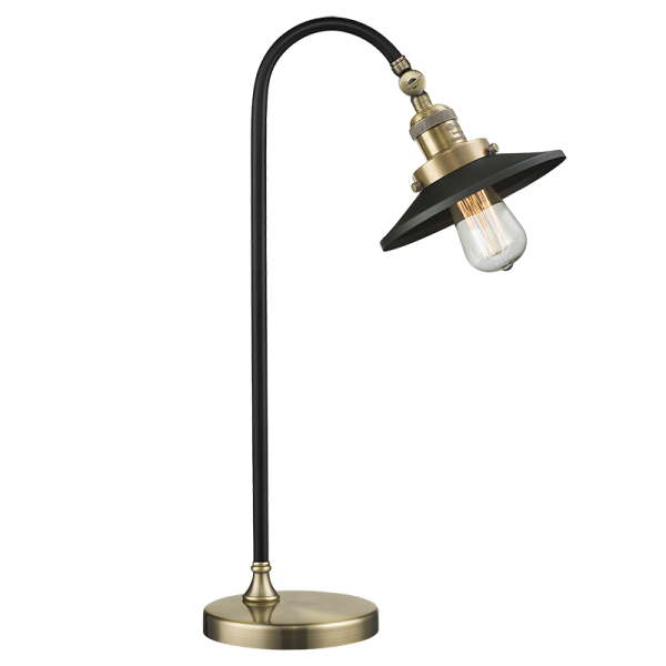 Innovations Black Brook Lamp Metal Shades