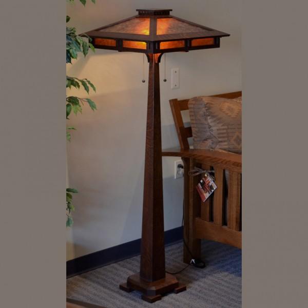 Craftsman Reading Floor Lamp