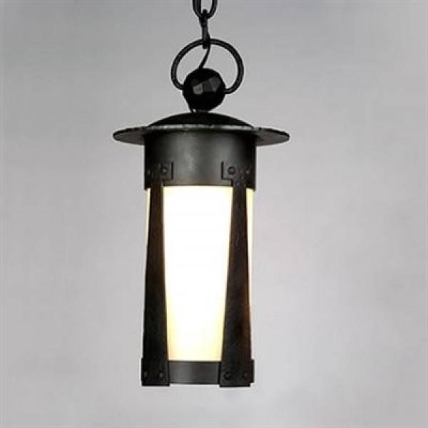 1900/2 Large Lantern Pendant Mica Lamp