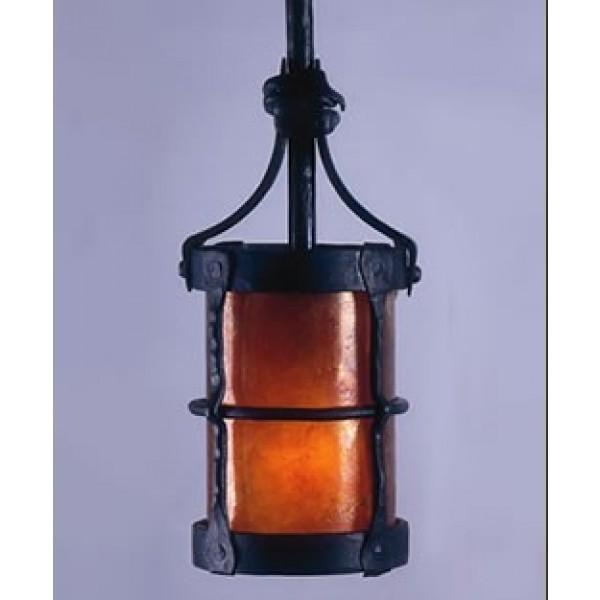 LF204P Manor 3 Hook Pendant Mica Lamps