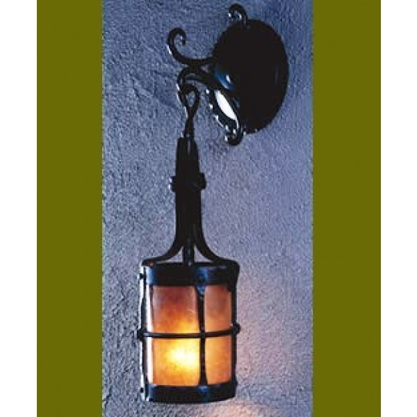 LF204B Manor Small Wall Pendant Mica Lamps