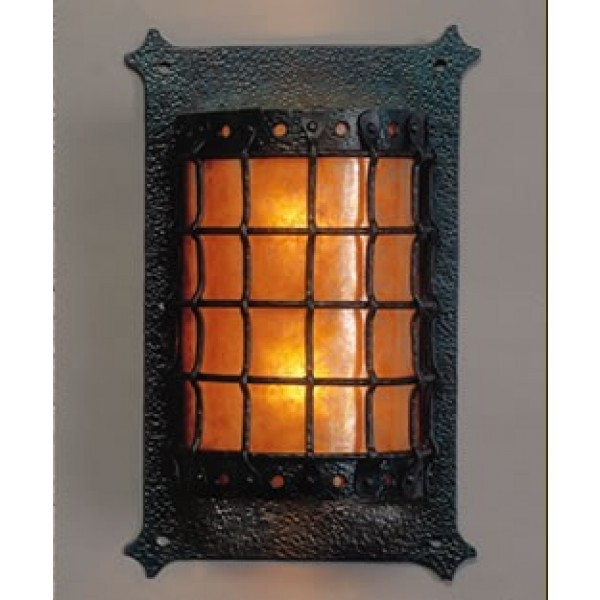 LF205B Manor Large Open Top and Bottom Sconce