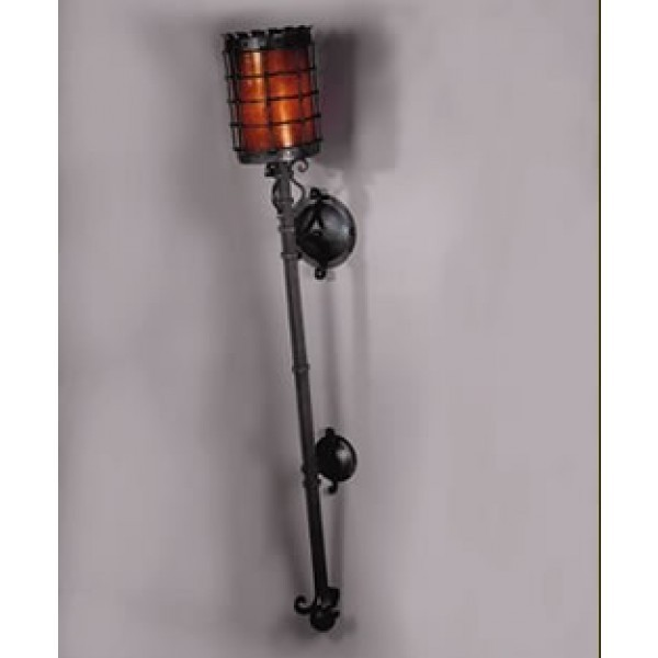 LF209WT Manor Torchiere Wall Sconce
