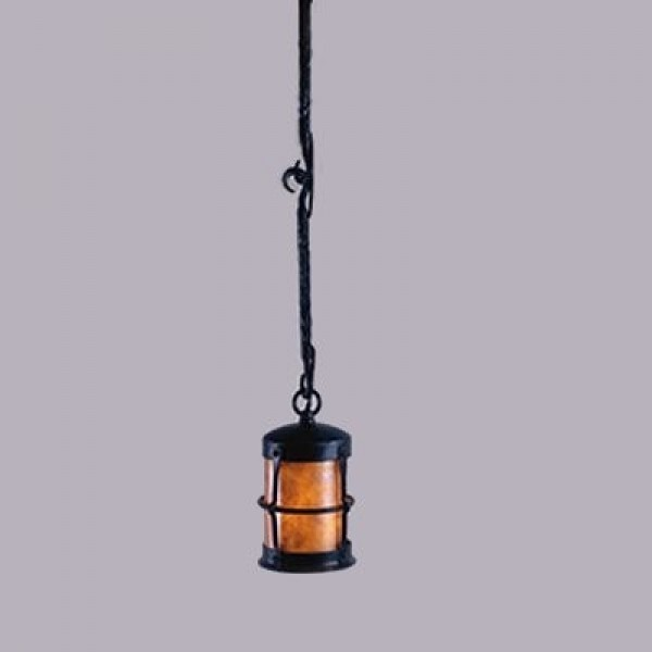 LF403P Griffith 3 Hook Pendant Mica Lamps