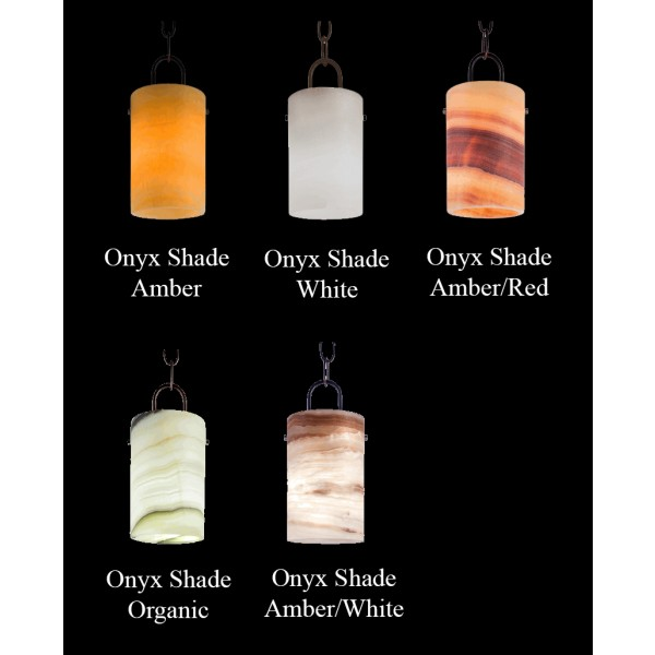 Santangelo Lighting Onyx Shade Samples