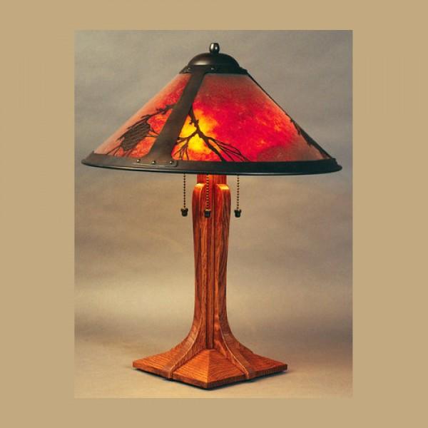 Pasadena Table Lamp 045 Pine Tree Mica Lamp