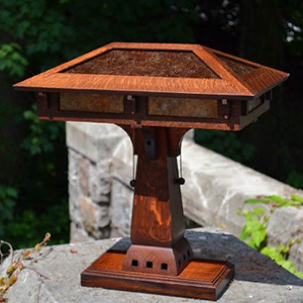 Bungalow Craftsman Desk Table Lamp