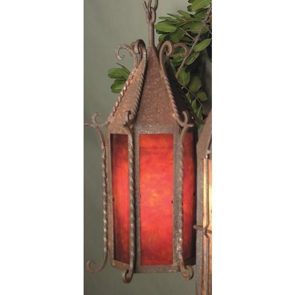 SB30 Seville Ceiling Pendant Mica Lamp
