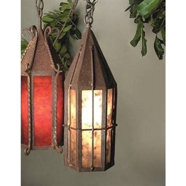 SB40 Tavern Ceiling Pendant Mica Lamp