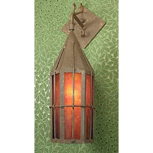 SB42 Tavern Outdoor Wall Sconce Mica Lamp