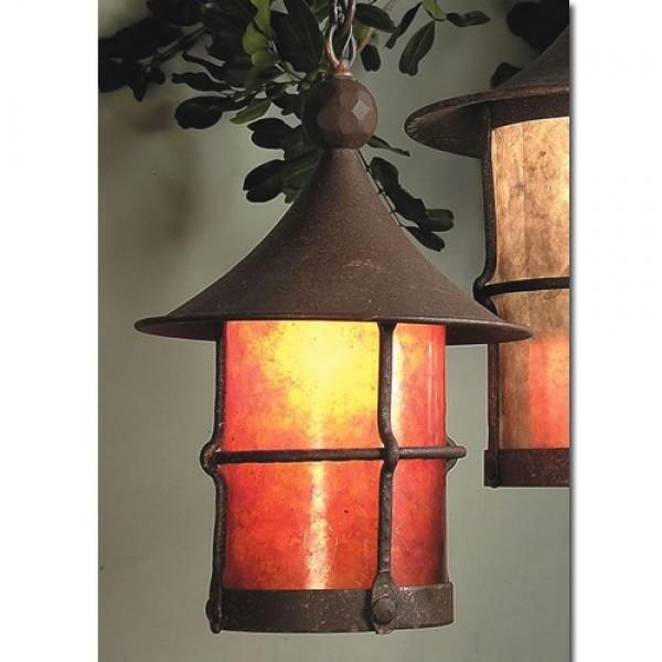 SB5 Storybook Elf Ceiling Medium Pendant Mica Lamp
