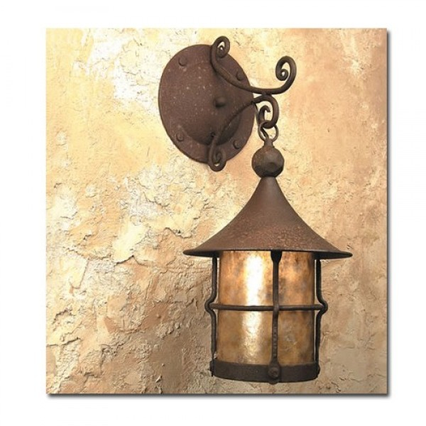 SB6 Storybook Elf Wall Medium Pendant Mica Lamp