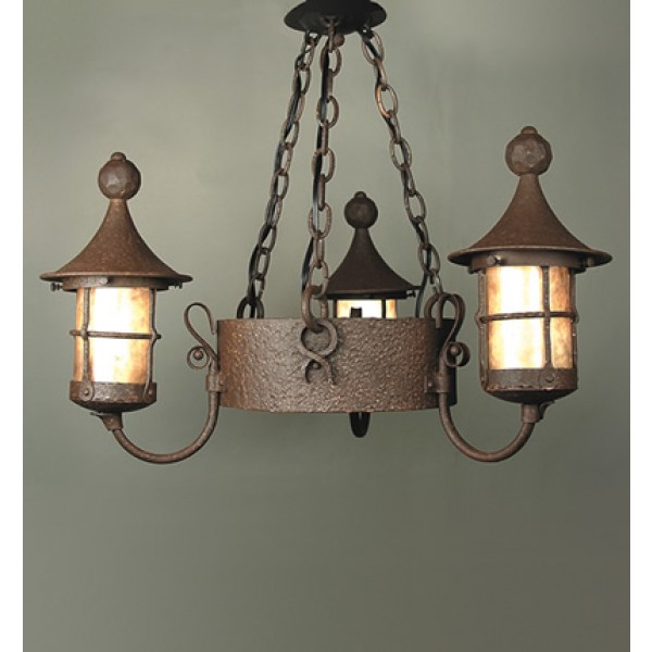 SB73 3 Light Storybook Fantasy Chandelier