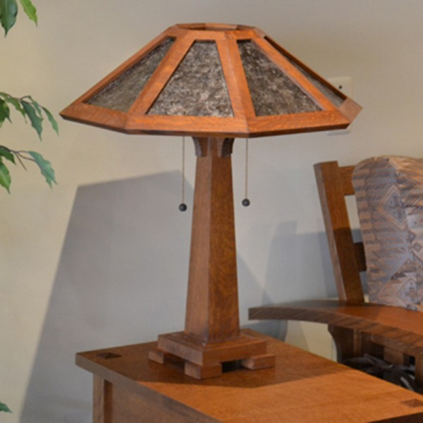 Arts & Crafts Tall Table Lamp