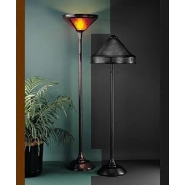 Craftsman Floor Lamp 070 Mica Lamp Company