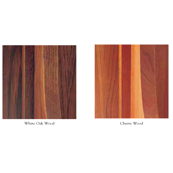 Mica Lamp Wood Finishes