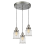 Canton 3 Light Pendant Innovations Lighting