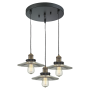 Innovations Lighting Halophane 3 Light Pendant