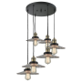 Innovations Lighting Halophane 6 Light Pendant
